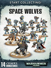 Warhammer 40k Space Wolves Start Collecting! Space Wolves (14 Models) NIB / NEW