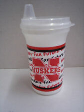 Nebraska Huskers Sippy Cup By Whirley Industries, Brand New