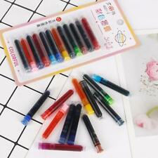 12pcs PARALLEL PEN REFILL INK CARTRIDGES Calligraphy CHOOSE Colors Black or Blue