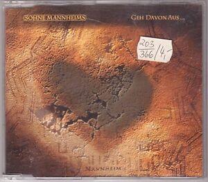 Söhne Mannheims - Geh davon aus... (Maxi-CD 2000)