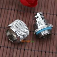 G1/4 Thread Soft Tube Connector Fitting Point for 9.5 X 12.7 mm PC Water Cooling