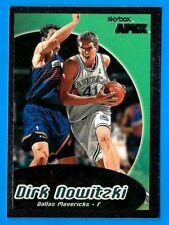DIRK NOWITZKI 1999-00 SkyBox Apex (ex-mt) Dallas Mavericks