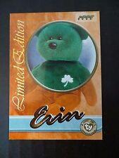 Rare Ty Beanie Babies Series III S3 ~Limited Edition Erin Tear A Bear BBOC Card
