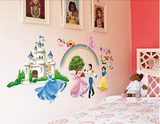 Dancing Princess Lovely wall sticker girl's room decoration wall art mural