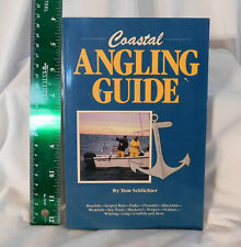 "Coastal Angling Guide SC Book Tom Schlichter 8x5"" 1989 Boating Strategies Fish"