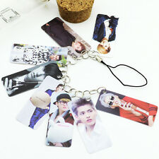 EXO KRIS EXODUS SING FOR YOU PVC PHONE STRAP CARD KPOP NEW