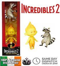 Disney Pixar Incredibles 2 Champion Serie Jack-Jack & Raccoon Action Figure Gift