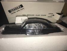 "Danbury Mint ""1949 Mercury Club Coupe� 1:24 Black -New in Box w/Title"