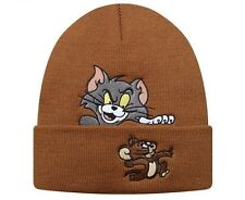Supreme Tom y Jerry Beanie-Marrón FW16 Cap Hat