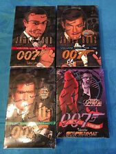James Bond 007 Inkworks Trading Cards Box set of 4 - Factory sealed