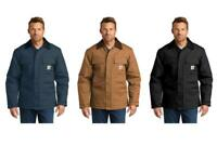 Carhartt Men's Duck Traditional Coat Black or Brown FREE SHIPPING