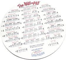 """Rudi-Pad (R) Drum Practice Pad with Standard 26 American Drum Rudiments 9"""" quiet"""