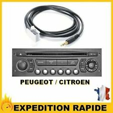 CABLE AUXILIAIRE MP3 CITROEN C4 AUTORADIO RD4 NEUF