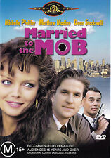 MARRIED TO THE MOB Michelle Pfeiffer DVD R4 - PAL - New