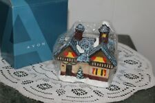 Avon 2005.Small Town Candles.Chalet