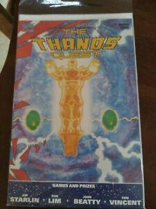 The Thanos Quest #2 ,,,,2 Printing NM+ 1990 Marvel Comics