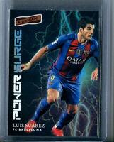 2016-17 Aficionado Soccer POWER SURGE HOLOFOIL SP Luis Suarez FC BARCELONA 🔥