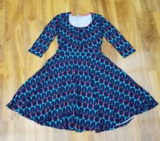 Boden Ladies GORGEOUS jersey flatering Highgate Dress WH721 UK 8P Excellent cond