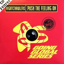 Nightcrawlers ‎CD Single Push The Feeling On - France (EX/EX+)