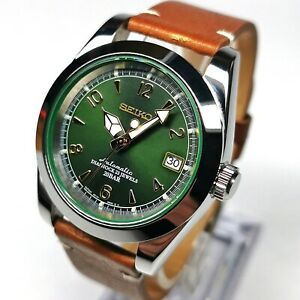 EXPLORER WATCH MOD SEIKO NH36 AUTOMATIC SAPPHIRE CRYSTAL ALPINIST DIAL