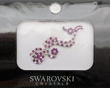 Bindi bijoux de peau mariage front strass cristal Swarovski rose INHD  3615