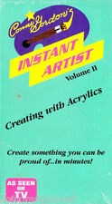 Creating With Acrylics Conni Gordon Instant Artist Volume II Two VHS Video Tape