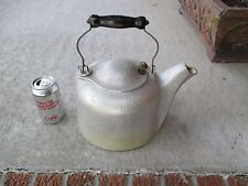Vintage Silver Seal aluminum teakettle, 4 1/2 quart