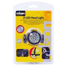 Rolson 61738 21 LED Head Lamp Head Torch Headlamp