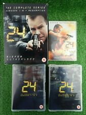 24 The Complete Series. Seasons 1-8 & Redemption DVD Boxset