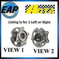 For RX330 RX350 RX400H Highlander AWD 4cyl V6 DTA Rear Wheel Hub Bearing NEW