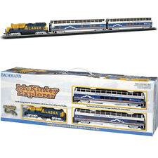 Bachmann 00743 McKinley Explorer Electric Train Set w/ E-Z Track HO Scale