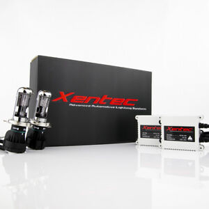 Xentec Slim 55 Watts H4 HB2 9003 8000K High//Low Iceberg Blue HID Xenon Kit