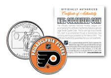 PHILADELPHIA FLYERS NHL Hockey Pennsylvania Statehood Quarter US Coin *LICENSED*