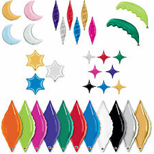"Qualatex 15565 40"" Gold Starpoint Décor Shape Foil Balloon 1ct"