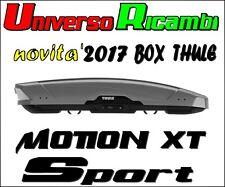 Box Da Tetto Thule Motion XT SPORT TITAN Lucido 300 Litri