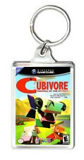 CUBIVORE SURVIVAL OF THE FITTEST NINTENDO GAMECUBE KEYRING LLAVERO
