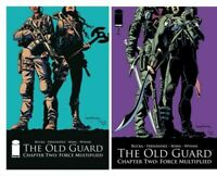 Image The Old Guard Force Multiplied #1 #2 Comic Book Set Theron Greg Rucka NM