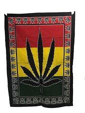 Indio Tapiz Colgante de Pared Mandala Póster Tamaño Jamaicano estampado hojas