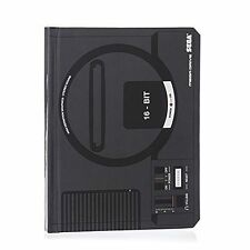 SEGA Mega Drive Official Black Console Lined Notebook