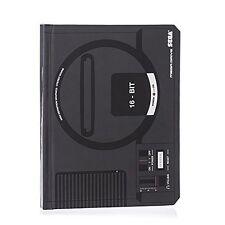 SEGA Mega Drive Official Black Console Lined Notebook