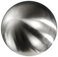 EDELSTAHLKUGEL ca 80 mm gebürstet matt  Dekokugel  8 cm