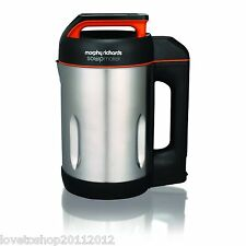 Morphy Richards Soup Maker With Serrator Blade In Stainless Steel - 501013