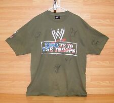 WWE World Wrestling Tribute to the Troops Men's X-Large Graphic T-shirt READ