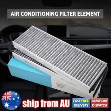 2x Car Cabin Air Aircon Filter For Audi A6 C6 4F2 4FH 4F5 R8 Quattro 4F0819439A
