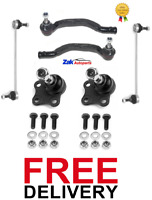 VAUXHALL VIVARO TRAFIC TRACK ROD ENDS BALL JOINTS ANTI ROLL BAR DROP LINKS SET