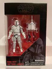 "Star Wars Black Series  - Walmart Excl. 3.75"" AF - Prototype (White) Boba Fett"