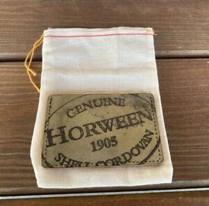 Ashland Leather Reverse Horween Shell Cordovan 2 Shot Card Case Wallet USA
