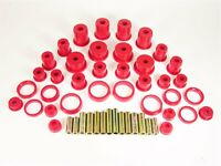 Prothane 1-2004 Complete Suspension Bushing Red Kit for 1984-2001 Jeep Cherokee
