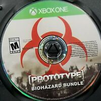 Prototype Biohazard Bundle (Microsoft Xbox One, 2016) Video Game Disc Only