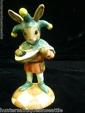 """*Rare* Royal Doulton Bunnykins """"Jester"""" DB-161 Limited Edition 36 of 1500"""